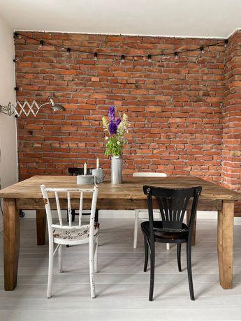 Stół drewniany (stare drewno) rustykalny, loft 190x100cm (330x100cm)