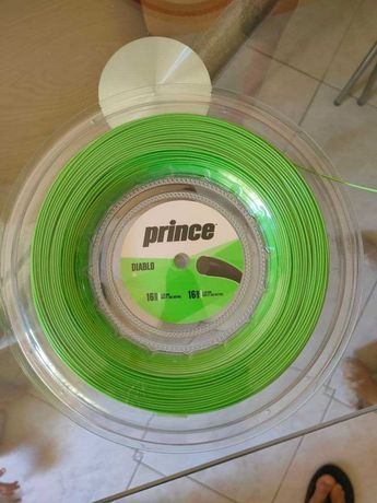 Cordas PRINCE DIABLO tênis 200 metros