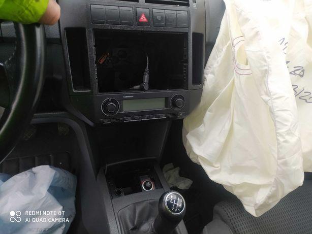 VW polo 9n panel klimatyzacji