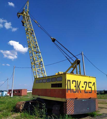 Продам кран ДЭК-251