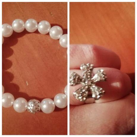 conjunto pulseira / anel