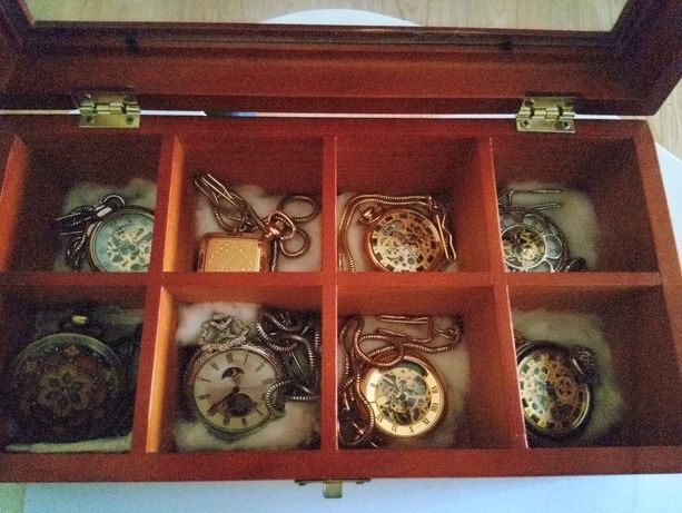 Relógios vintage de bolso
