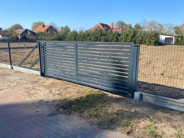 Ogrodzenie panelowe 123 cm + podmurówka 25 cm