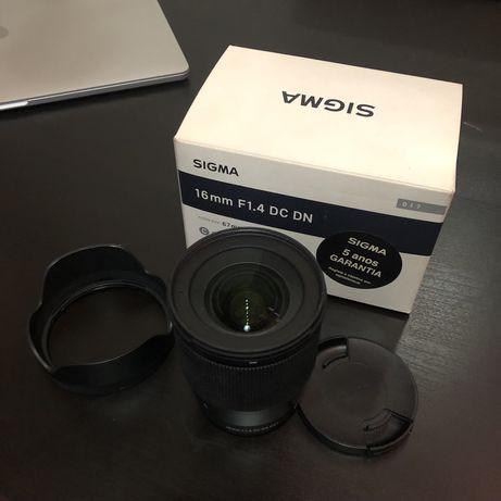 Sigma 16mm f/1.4 DC DN Contemporary para Micro 4/3