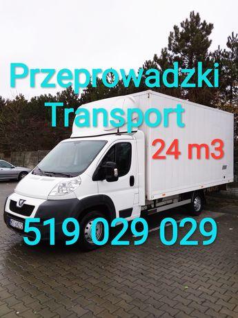 Przewóz mebli 100zł/h przeprowadzki wnoszenie montaż mebli transport