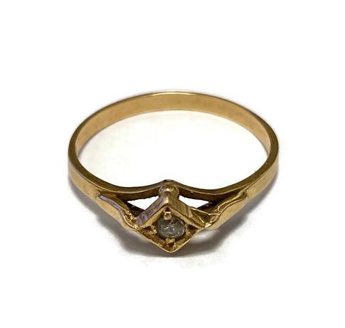 Wyrób jub. Używany - Złoty pierścionek 583 / 1,76g