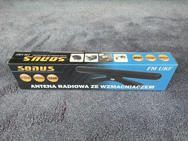 Antena radiowa ze wzmacniaczem SONUS