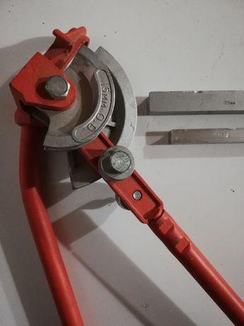 Ручной трубогиб для круглой трубы 15 и 22мм Topex 34D080
