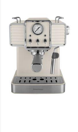 Retro ciśnieniowy ekspres do kawy Vintage Cuisine