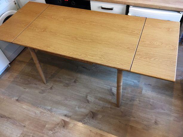 Stół drewniany - rozkładany (solidny, 6-osobowy)