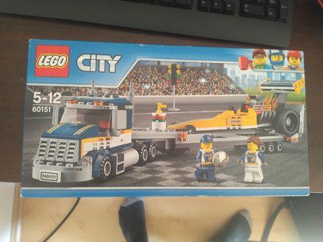 LEGO 60151 - Nowy - Nieotwierany - Transporter Dragsterów