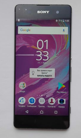 смартфон Sony Xperia XA F3115 Black