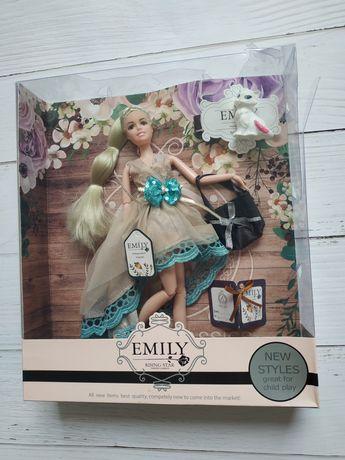 Кукла  Emily лялька шарнірна нова