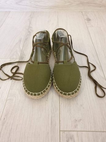Sandały ONLY wiązane 40 jak nowe!