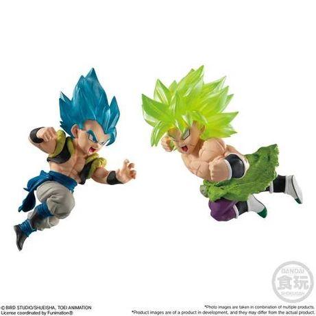 Dragon Ball figuras - Gogeta SSJ4 e Broly - NOVO SELADO - Envio grátis