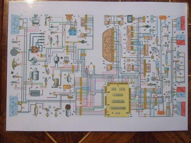 Электрическая схема ВАЗ 2110, 2111, 2112