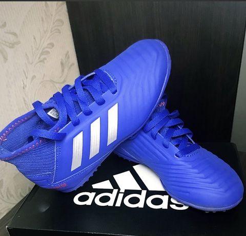 Оригинальные сороконожки Adidas, размер 18