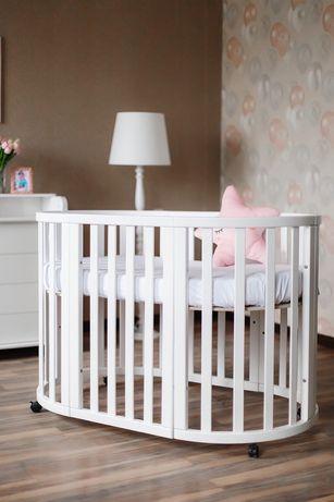 Овальная/круглая кроватка! Европейская, 6 «Дитячий сон»