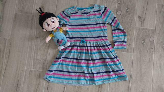 Sukienka 122 bawełniana