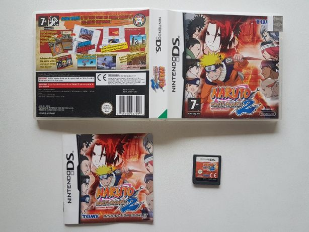 Naruto: Ninja Council 2 European Version |Nintendo DS [NDS]**Completo*