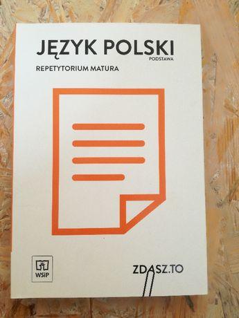 Język polski podstawa repetytorium matura WSiP + kod zdasz.to