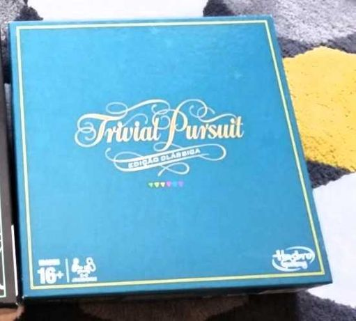 Trivial Pursuit jogo de tabuleiro