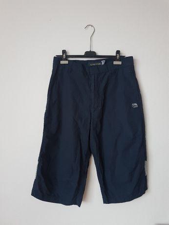Granatowe męskie krótkie spodnie Quicksilver M bermudy spodenki szorty