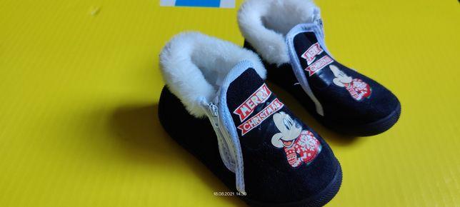 Тапочки Disney, 24 размер, теплые