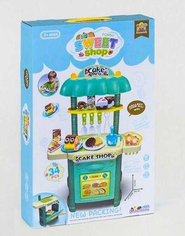 Игровой набор Магазин сладостей продукты на липучках 34 элемента