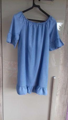 Sukienka letnia tencel jeans 38-42