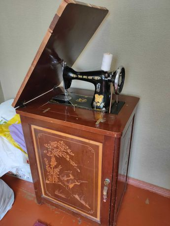 Швейная машинка Старый Китай клон Зингера 1950 год ножной привод 15-80