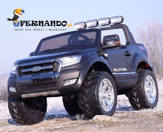 Auto samochód na akumulator FORD RANGER 4x4 LCD dla dzieci czarny jeep