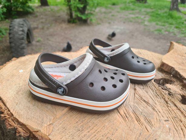 Crocs Crocband Lined kids оригинал. С 6-7