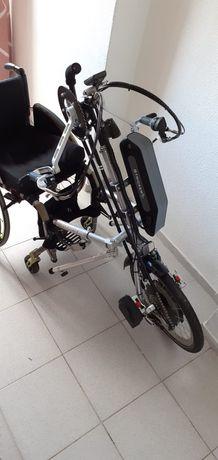 Hand Bike Striker Eléctrica e Manual (Híbrida) Nova