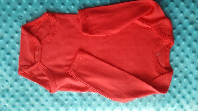 Czerwone body rozmiar 74
