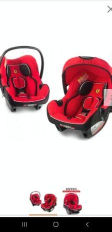 Fotelik dwa foteliki Ferrari nosidełko nosidełka dla bliźniakow