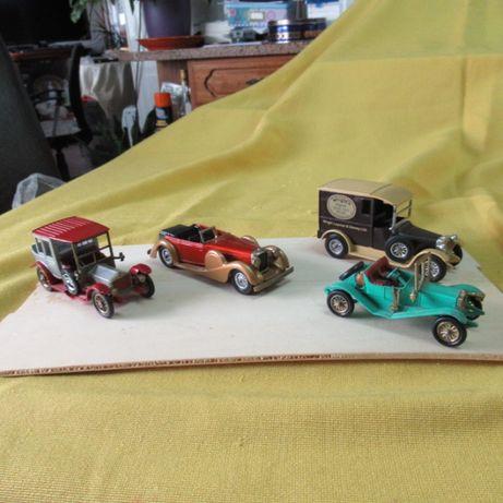 4 carros antigos da Matchbox