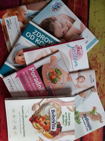 Broszurki dla kobiet w ciąży oddam za darmo