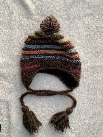 Barts, шапка для девочки, шапка зимова для дівчинки, зимняя