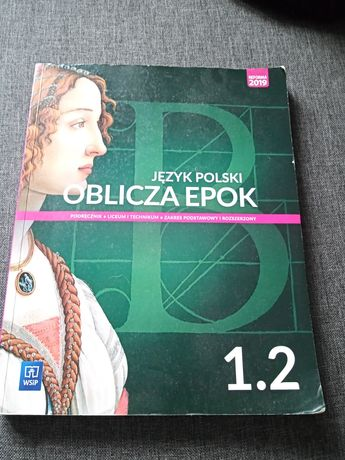 Oblicza epok, podręcznik j.polski