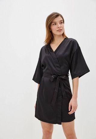 Новый атласный халат,размер 52-54-56.