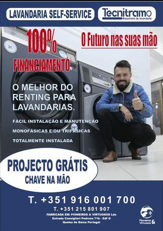 Self service lavandaria Líder seja o próximo empresário de sucesso