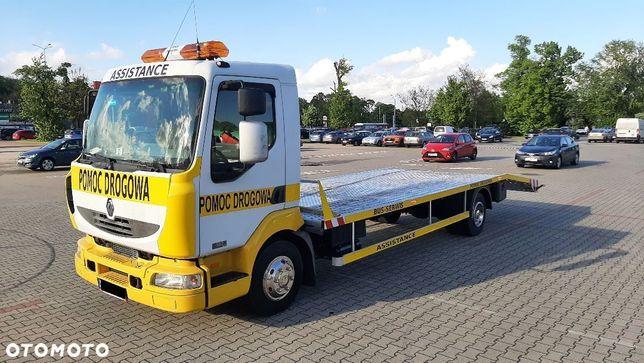 Renault MIDLUM POMOC DROGOWA  730cm ładowność 7100KG HOLOWNIK laweta autolaweta
