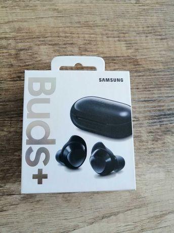 Słuchawki bezprzewodowe Samsung Galaxy Buds + czarne
