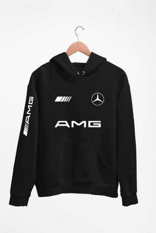 Bluza z kapturem Mercedes AMG - męskie i damskie - dostępne 4 kolory
