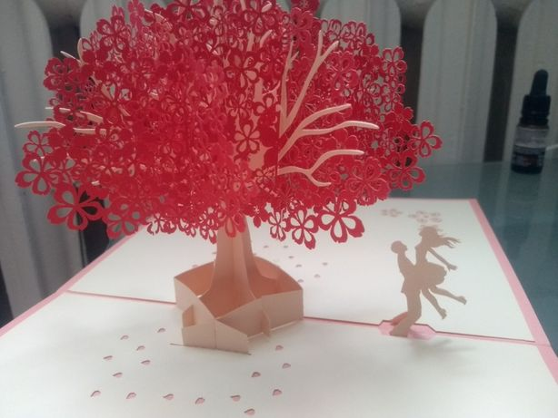 Kartka okolicznościowa 3D ślub wesele