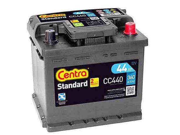Akumulator 12V 44Ah CENTRA STANDARD CC440 +Rabat