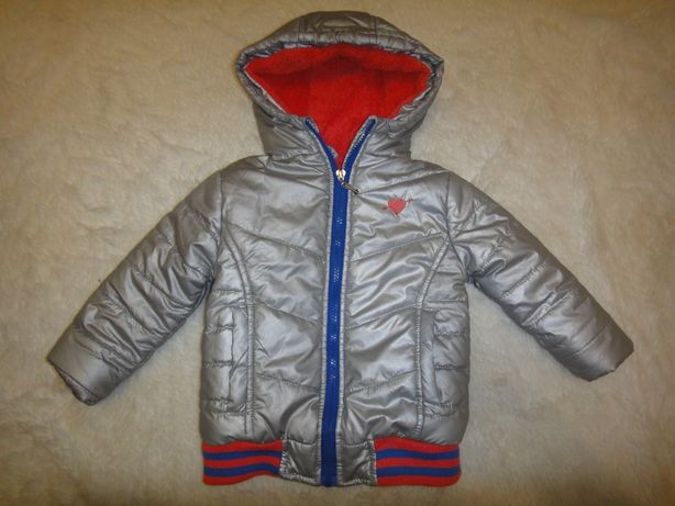 Красивая теплая деми куртка Zeeman р. 98-104 (3-4 года) Германия