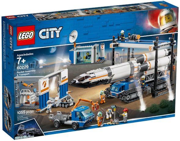 LEGO City Сборка ракеты и транспорт (60229)