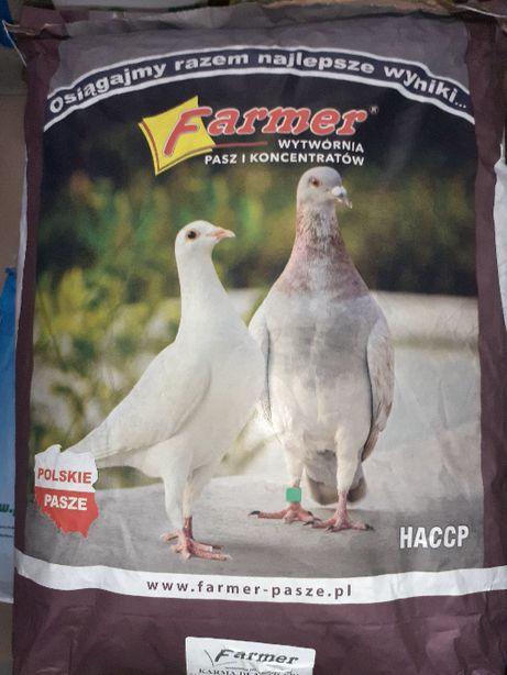 Karma dla gołębi firmy Farmer- pasza Poddębice